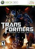 Transformers: Revenge of the Fallen Xbox 360 Front Cover