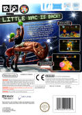 Punch-Out!! Wii Back Cover