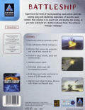 Battleship: The Classic Naval Warfare Game Windows Back Cover
