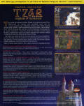 Tzar: The Burden of the Crown Windows Back Cover