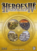 Heroes of Might and Magic IV Windows Other Keep Case - Front