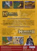 Heroes of Might and Magic IV Windows Other Keep Case with Bonus Games - Back