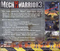 MechWarrior 3 Windows Other Jewel Case - Back