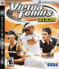 Virtua Tennis 2009 PlayStation 3 Front Cover