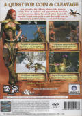The Bard's Tale PlayStation 2 Back Cover