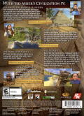 Sid Meier's Civilization IV: Game of the Year Edition Windows Back Cover