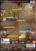 Sid Meier's Civilization IV: Game of the Year Edition Windows Other Keep Case - Back