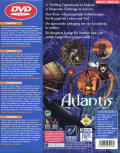 Atlantis: The Lost Tales Windows Back Cover