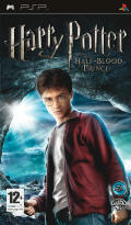 Harry Potter and the Half-Blood Prince PSP Front Cover