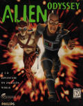 Alien Odyssey DOS Front Cover