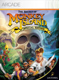 The Secret of Monkey Island: Special Edition Xbox 360 Front Cover