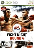 Fight Night Round 4 Xbox 360 Front Cover