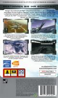 Ace Combat X: Skies of Deception PSP Back Cover