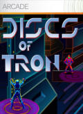 Discs of TRON Xbox 360 Front Cover