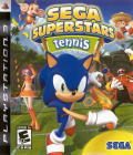 SEGA Superstars Tennis PlayStation 3 Front Cover