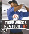 Tiger Woods PGA Tour 07 PlayStation 3 Front Cover