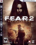 F.E.A.R. 2: Project Origin PlayStation 3 Front Cover