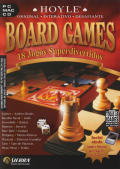 Hoyle Board Games Macintosh Front Cover