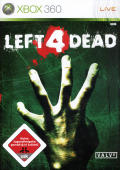 Left 4 Dead Xbox 360 Front Cover