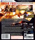 Red Faction: Guerrilla PlayStation 3 Back Cover