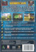 Serious Sam: The Second Encounter Windows Back Cover
