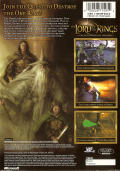 The Lord of the Rings: The Fellowship of the Ring Xbox Back Cover