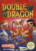 Double Dragon NES Front Cover
