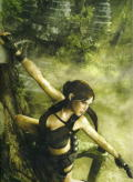 Tomb Raider: Underworld (Limited Edition) Xbox 360 Inside Cover Middle