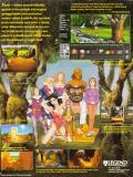 Companions of Xanth DOS Back Cover