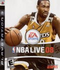 NBA Live 08 PlayStation 3 Front Cover