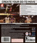 NBA Live 08 PlayStation 3 Back Cover