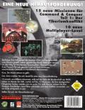 Command & Conquer: The Covert Operations DOS Back Cover