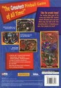 Extreme Pinball PlayStation Back Cover