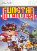 Gunstar Heroes Xbox 360 Front Cover