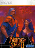 Phantasy Star II Xbox 360 Front Cover