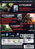 Crysis: Maximum Edition Windows Back Cover