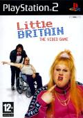 Little Britain: The Video Game PlayStation 2 Front Cover