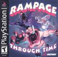 Rampage Through Time PlayStation Front Cover