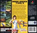 R4 Ridge Racer Type 4 PlayStation Back Cover