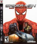 Spider-Man: Web of Shadows PlayStation 3 Front Cover
