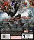 Spider-Man: Web of Shadows PlayStation 3 Back Cover
