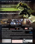 Spider-Man 3 (Collector's Edition) PlayStation 3 Back Cover