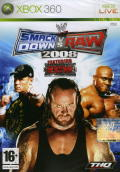 WWE Smackdown vs. Raw 2008 Xbox 360 Front Cover