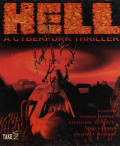 Hell: A Cyberpunk Thriller DOS Front Cover