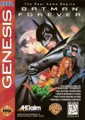 Batman Forever Genesis Front Cover