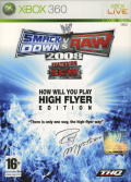 WWE Smackdown vs. Raw 2008 (High Flyer Edition) Xbox 360 Front Cover