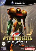 Metroid Prime GameCube Front Cover