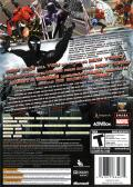 Spider-Man: Web of Shadows Xbox 360 Back Cover