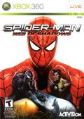Spider-Man: Web of Shadows Xbox 360 Front Cover