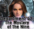 Department 42: The Mystery of the Nine Windows Front Cover